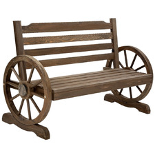 Candela Wooden Outdoor Garden Bench