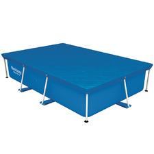 Blue Bestway Rectangular Swimming Pool Cover