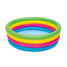 Kids' Round Inflatable Swimming Pool