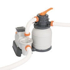 Flowclear 1500GPH Sand Filter Pool Cleaning Pump