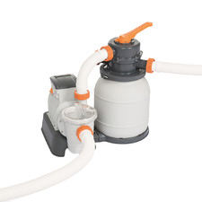 Flowclear 2000GPH Sand Filter Pool Cleaning Pump