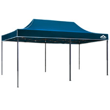 300 x 600cm Sailor Blue Instahut Outdoor Pop Up Gazebo
