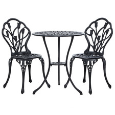 2 Seater Favian Metal Outdoor Bistro Set