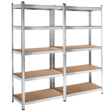 5 Tier Rico Steel Garage Shelving Unit (Set of 2)