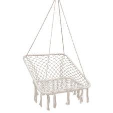 Cream Tadlac Outdoor Hammock Swing Chair