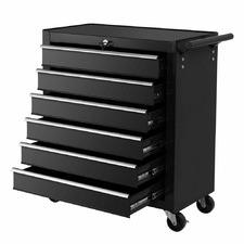 Giantz Steel 6 Drawer Tool Storage Trolley