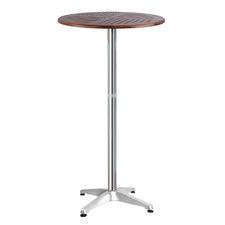 Bozzeli Wood & Aluminium Adjustable Outdoor Bar Table