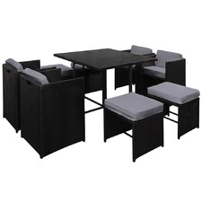 8 Seater Demetry Outdoor Dining Set