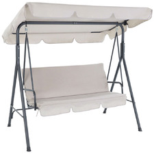 3 Seater Lachlan Outdoor Canopy Swing Chair