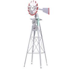 Lesley Metal Garden Windmill