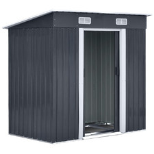 Anthracite Dayton Steel Garden Shed