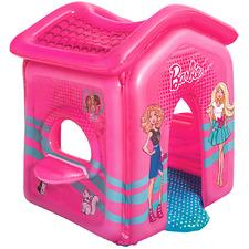 Kids' Pink Barbie Malibu Inflatable Playhouse