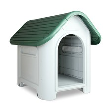 Small Green Dog Kennel