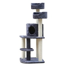 Grey 126cm Cat Scratch Tree