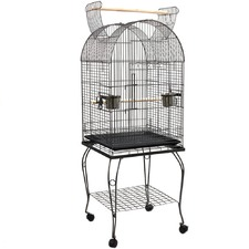 Large Round Bird Cage with Perch