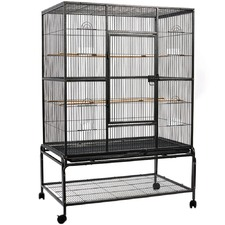 Model 1 Low Stand Bird Cage with Perch