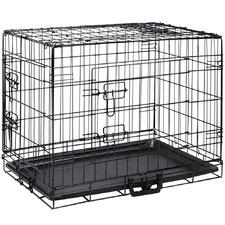 Black Steel Pet Cage