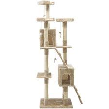 180cm Multi Level Cat Scratching Tower Post