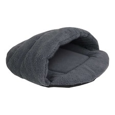 Grey Cave Pet Bed
