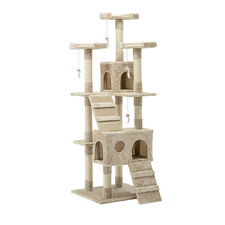 180cm Multi Level Cat Scratching Tower Post