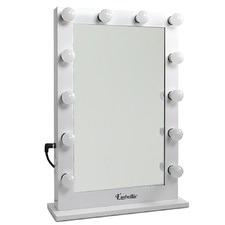 White Make Up Mirror Frame with LED Lights