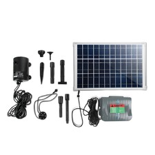 10.5 ft Submersible Solar Fountain Pump & Inverter