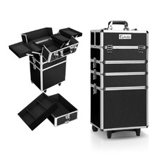 4-in-1 Portable Beauty Make Up Cosmetic Trolley