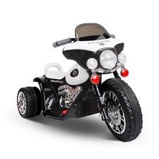Black & White Kids' Ride-On Harley Model 1 Motorbike