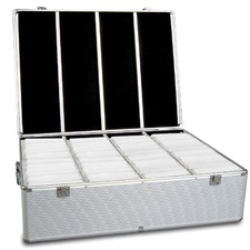 1000 Capacity Aluminium CD Storage Case