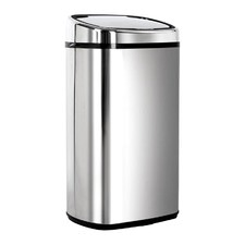 Stainless Steel Motion Sensor Rubbish Bin 58 L