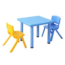 3 Piece Kids' Table & Chairs Play Set
