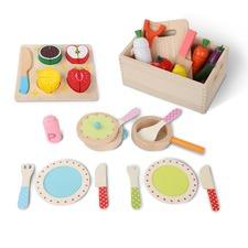 3 in 1 Children's Wooden Kitchen Set