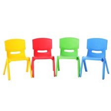 Kids' Play Chairs (Set of 4)