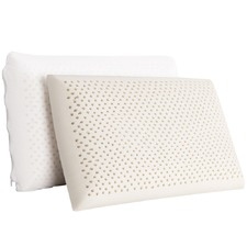 High Resilience Latex Pillows (Set of 2)