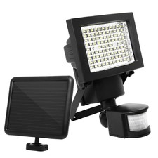 LED Motion Detection Solar Sensor Security Garden Flood Light