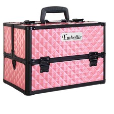 Portable Cosmetic Carry Case Box