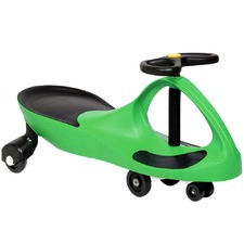 Green Ride-On Wiggle Scooter