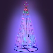 Sun Hut LED Lights Christmas Tree