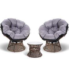 2 Seater Pierre Papasan Outdoor Lounge Set