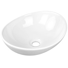 Idra Oval Ceramic Sink Bowl