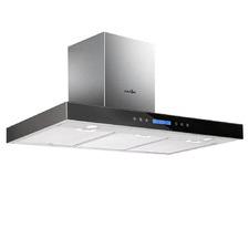Silver Inox Stainless Steel Kitchen Range Hood