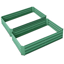 Green Fingers Raised Garden Beds (Set of 2)