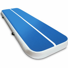 100cm Blue Fitness Buddy Inflatable AirTrack Mat