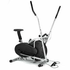Black Fitness Buddy 4-in-1 Elliptical Trainer Bike