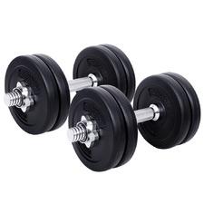 15Kg Fitness Buddy Steel Dumbbells (Set of 2)
