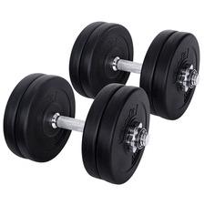 26Kg Fitness Buddy Steel Dumbbells (Set of 2)