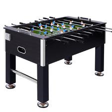 3 Piece Black Soccer Table Set