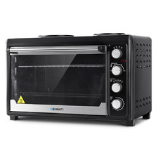 Black Electric Convection 60L Benchtop Oven