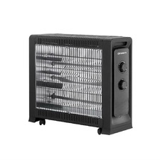 Black 55cm Devanti Portable Electric Heater