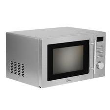 Silver Midea 34L Microwave Oven
